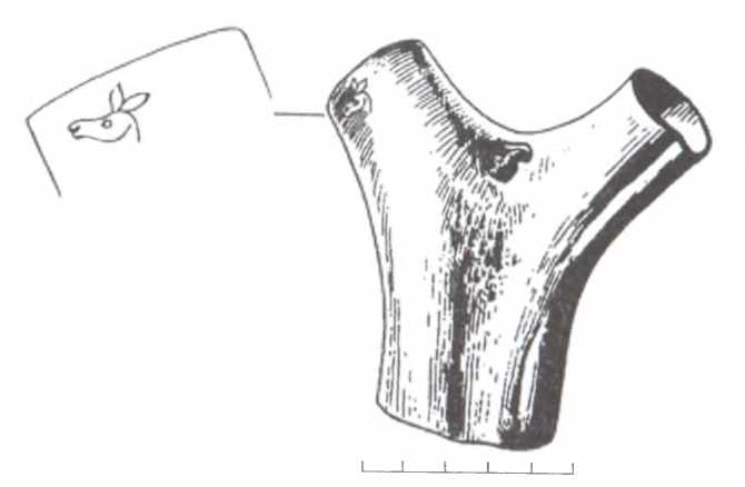 Рис. 1. Дэрестуйский могильник, Джидинский район РБ. Погребение № 99, по: Миняев, 1998