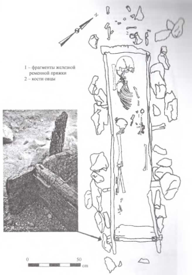 Рис. 7. Могила № 14